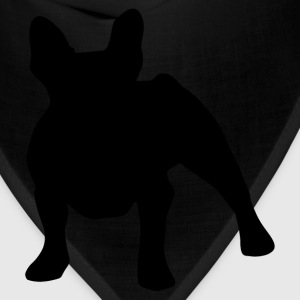 French Bulldog Silhouette - Bandana
