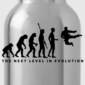 Red evolution_kung_fu_b T-Shirts - Water Bottle