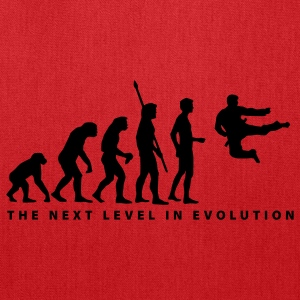 Red evolution_kung_fu_b T-Shirts - Tote Bag