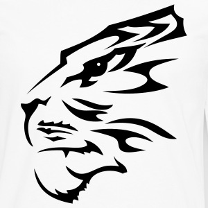 Tribal Tiger 1c - Men's Premium Long Sleeve T-Shirt