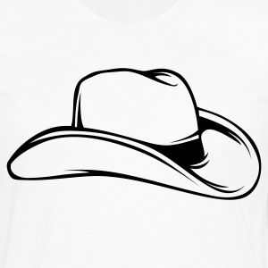 Cowboy Hat 1c - Men's Premium Long Sleeve T-Shirt