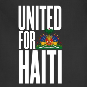Black united for haiti white - all author rights will be Kids' Shirts - Adjustable Apron