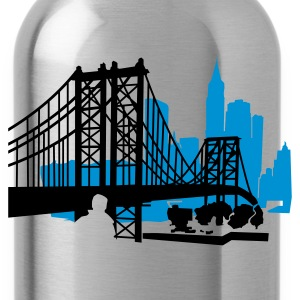 Lemon NewYork City Bridge T-Shirts - Water Bottle