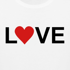 White love T-Shirts - Men's Premium Tank