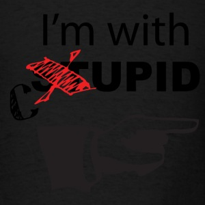 I'm with cupid - Men's T-Shirt