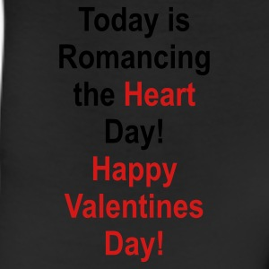 Black romancing_the_heart_day Bags  - Leggings