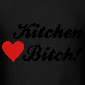Black kitchen bitch Bags  - Men's T-Shirt