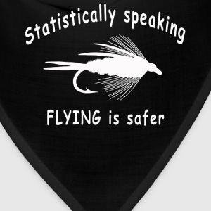Deep heather STATISTICALLY SPEAKING... FLYING IS SAFER Women's T-Shirts - Bandana