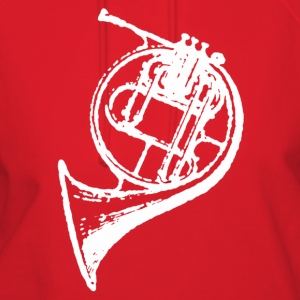 Red White French Horn T-Shirts - Women's Hoodie