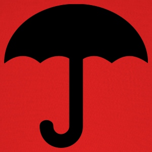 Red umbrella-rain-weather-storm T-Shirts - Baseball Cap