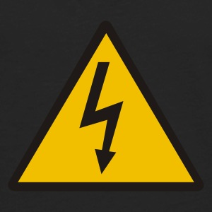 Black Lightning - Electricity Women's T-Shirts - Men's Premium Long Sleeve T-Shirt