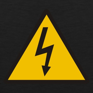 Black Lightning - Electricity Women's T-Shirts - Men's Premium Tank