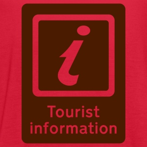 Red Tourism - Tourist Information Women's T-Shirts - Women's Flowy Tank Top by Bella