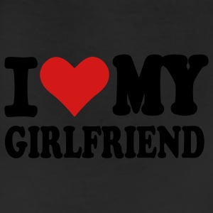 White I love my girlfriend Kids' Shirts - Leggings