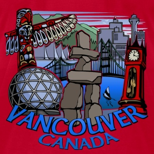 Vancouver Baby Hoodie Vancouver Canada Baby Shirts - Men's T-Shirt by American Apparel