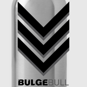 Olive bulgebull_badge T-Shirts - Water Bottle