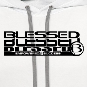 Blessed Stack Long - Contrast Hoodie