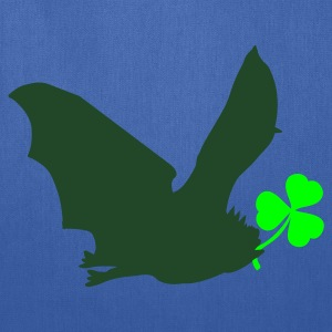 Royal blue irish luck with flying bat St Patricks Day Tribute T-Shirts - Tote Bag