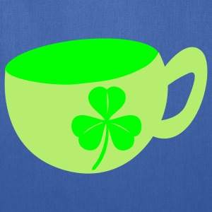 Royal blue irish coffee St Patricks Day Tribute T-Shirts - Tote Bag