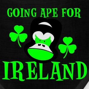 Teal going ape for ireland gorilla face St Patricks Day Tribute Women's T-Shirts - Bandana