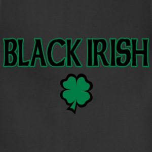 Black Irish T-Shirt - Adjustable Apron