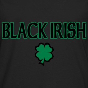Black Irish T-Shirt - Men's Premium Long Sleeve T-Shirt