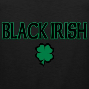Black Irish T-Shirt - Men's Premium Tank