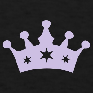 Black Princess Crown Caps - Men's T-Shirt