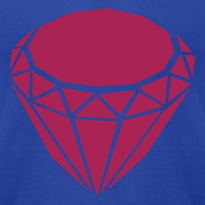 Brown Diamond Tanks - Men's T-Shirt by American Apparel