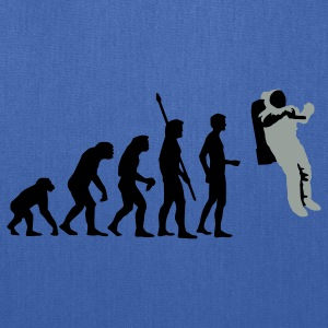 Royal blue evolution_astronaut_2c T-Shirts - Tote Bag