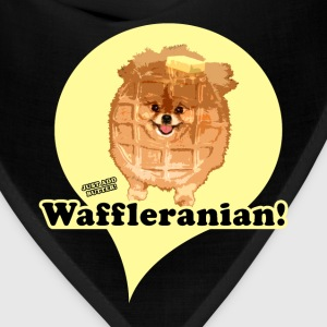 Brown Waffleranian Women's T-Shirts - Bandana