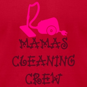 Red mamas cleaning crew (2c) Long Sleeve Shirts - Men's T-Shirt by American Apparel