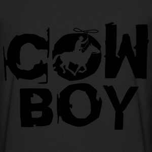 Black cowboy_c_1c T-Shirts - Men's Premium Long Sleeve T-Shirt