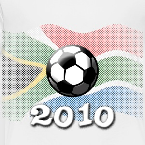 White Flag South Africa 2010 Soccer Kids' Shirts - Toddler Premium T-Shirt