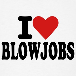 White Blowjobs - Sex Buttons - Men's T-Shirt