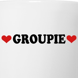 White Groupie - Band - Fan Buttons - Coffee/Tea Mug