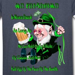 An Irishman Is Never Drunk! - Vintage Sport T-Shirt
