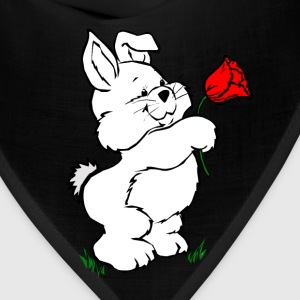Red easter_bunny Kids' Shirts - Bandana
