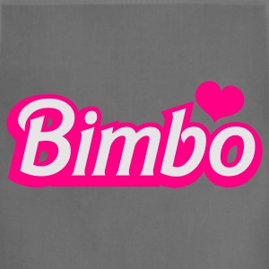 Ocean blue bimbo in barbie like font Women's T-Shirts - Adjustable Apron