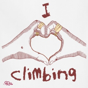 I love climbing - Adjustable Apron