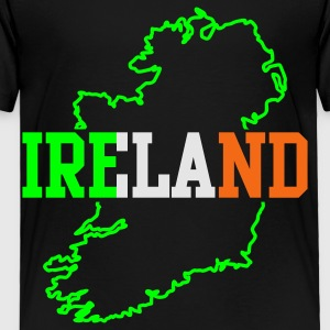 Black ireland  Kids' Shirts - Toddler Premium T-Shirt