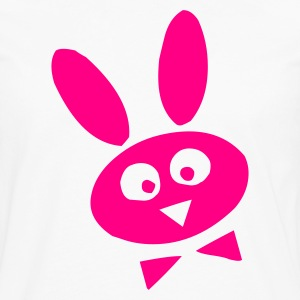 White bunny Kids' Shirts - Men's Premium Long Sleeve T-Shirt