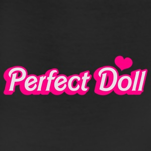Black perfect doll in barbie like font Women's T-Shirts - Leggings