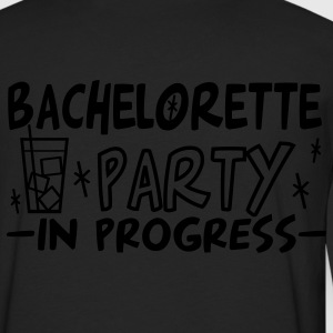 Black bachelorette party in progress vers2 Women's T-Shirts - Men's Premium Long Sleeve T-Shirt