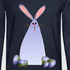 Purple Easter Bunny - Men's Long Sleeve T-Shirt