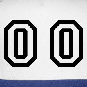 White number - 00 - double zero T-Shirts - Trucker Cap