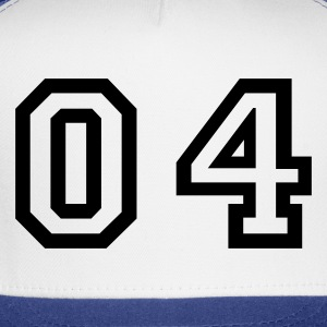 White number - 04 - zero four T-Shirts - Trucker Cap