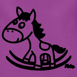 Light pink Rocking Horse Baby Body - Women's Premium T-Shirt