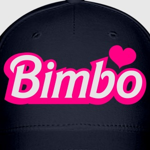 Moss bimbo in barbie like font Tanks - Baseball Cap