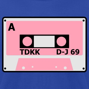 Moss cassette tape cool 80s number 2 Tanks - Men's T-Shirt by American Apparel
